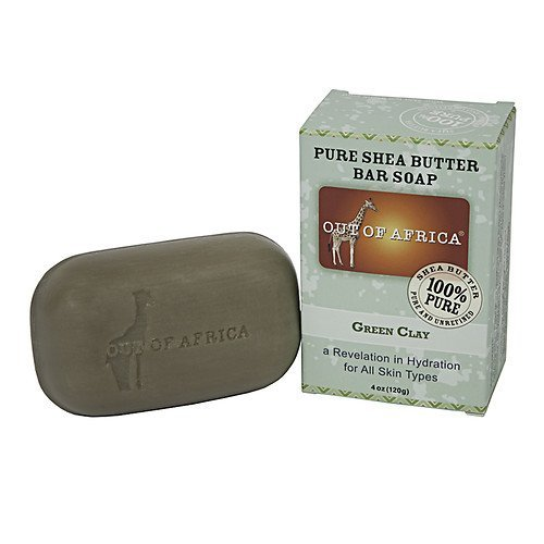 Out Of Africa Green Clay Shea Butter Bar Soap - 4 oz - 2 pk by Out of Africa