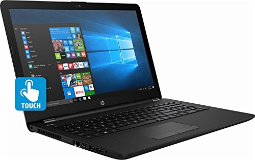 2018 Flagship HP 15.6 Inch Touchscreen Premium Flagship Notebook Laptop Computer (Intel Core i3-7100U 2.4GHz, 8GB DDR4 RAM, 128GB SSD, DVD, WiFi, Intel HD Graphics 620, HD Webcam, Windows 10) Black