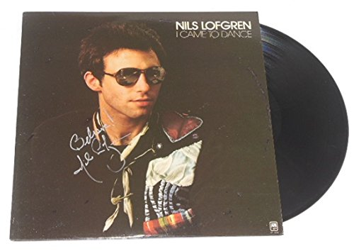 Nils Lofgren I Came to Dance Hand Signed Autographed Lp Record Album Vinyl Loa