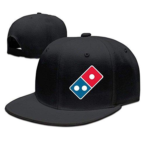 Adjustable Classic Dominos Pizza Logo Cap Baseball Dad Trucker Hats Snapback Hat Mesh Sun Cap for Women Men Black