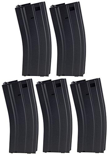 SportPro 30 Round Metal Low Capacity Magazine for AEG M4 M16 Airsoft – - Round Metal