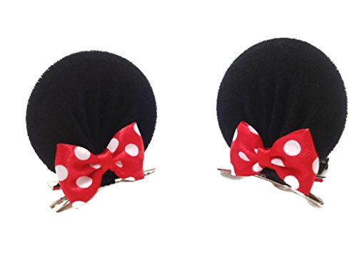 Mickey Mouse Headband Ears - Disney Mickey Mouse Ears Baby Elastic Headband Costume Accessory :M3 (MC Clip)