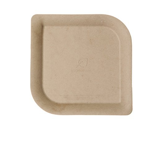 Eco-Products, Inc EP-PBS6 Compostable Sugarcane & Bamboo Plate, 6