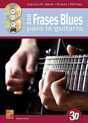 200 frases blues para la guitarra en 3D - 1 Libro + 1 CD + 1 DVD ...