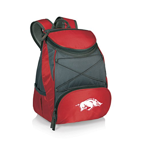 PICNIC TIME NCAA Arkansas Razorbacks PTX Insulated Backpack Cooler, Red