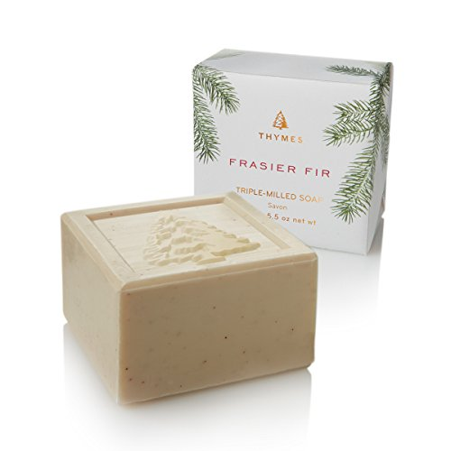 Thymes Frasier Fir Bar Soap Triple Milled 5.5 Oz