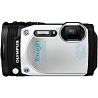 Olympus TG-870 Tough Waterproof Digital Camera (White) Basic Facts Review Image