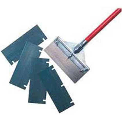 Robert Scott OFSCSR01L Floor Scraper Kit for Stone and Ceramic Surfaces, Zinc/Red Robert Scott & Sons 80SC