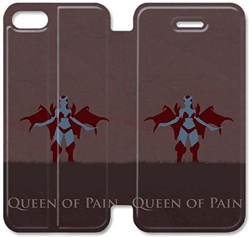 Funda iPhone 6 6S 4.7 Inch Caso De Cuero [BONITO REGALO Buen Presente] [Queen Of Pain Dota G8Y6H ] La caja del teléfono protector para iPhone 6 6S 4.7 Inch