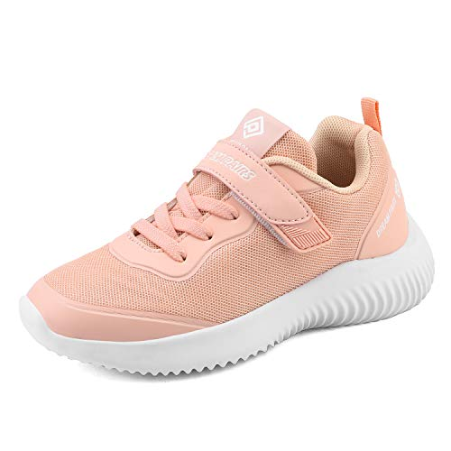 DREAM PAIRS Girls Tennis Running Shoes Athletic Sports Sneakers Coral Size 8 Toddler Contact-k