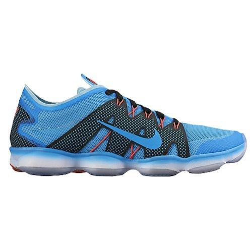 Nike Zoom Fit Agility 2 Women's Training Shoe (10, Blue Lagoon/Bright Crimson/Black)
