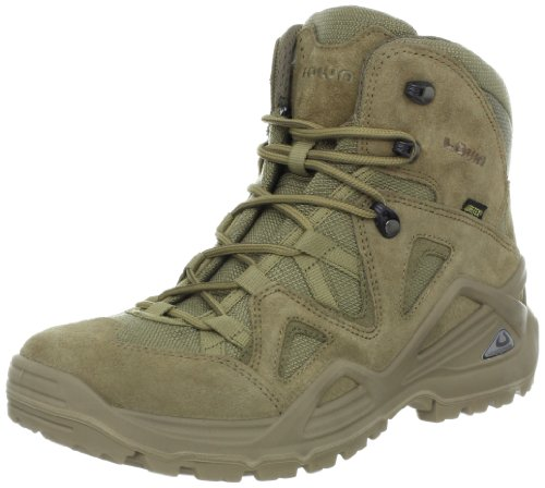 Lowa Mens Zephyr Gore-Tex Leather Boots Brown