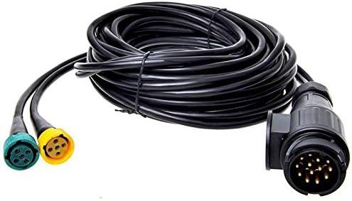 Kabelsatz Anhänger Anhängerbeleuchtung Rücklichter Kabelbaum für PKW 5m 13-polig