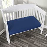EVERYDAY KIDS 2-Pack Fitted Crib Sheets, 100% Soft