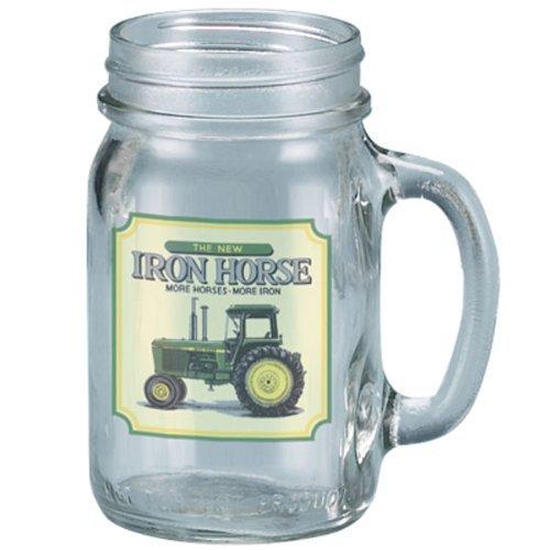 John Deere Coasters - John Deere Trademark Drink Jar (Iron Horse)