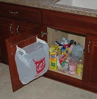 Amazon.com: Door-Mounted Kitchen Garbage Can: Home & Kitchen