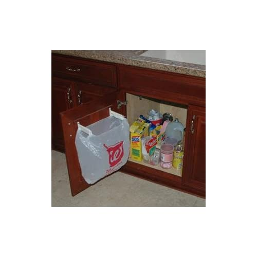 Garbage Bag Holder For Cabinet Amazon Com