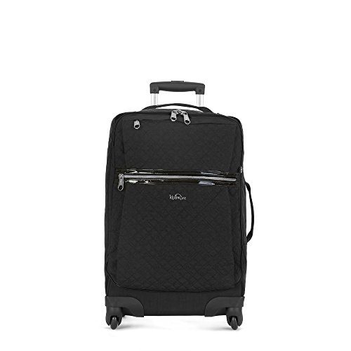 Kipling Darcey Solid Small Wheeled Luggage ,,Black SPC Quilted
