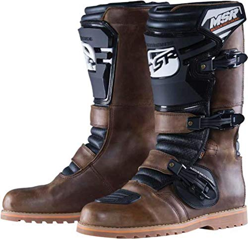 Boots Msr Mens - MSR Dualsport Oiled Boots - 7/Brown