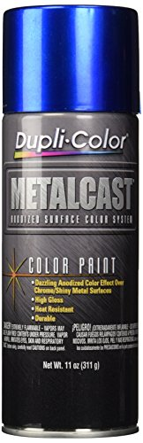 Dupli-Color EMC201007 Blue Metal Cast Anodized Color - 11 oz (Engine Paint Blue)