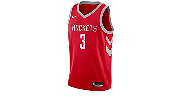 f436e7bcc9b Amazon.com   Nike Men s Chris Paul Houston Rockets Swingman Jersey Red Size  L 48   Sports   Outdoors