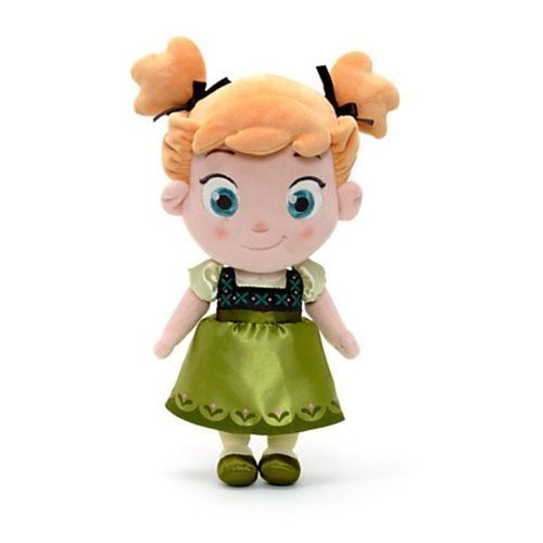 Disney Official Frozen 12 in. Toddler Baby Anna Soft Plush Toy]()