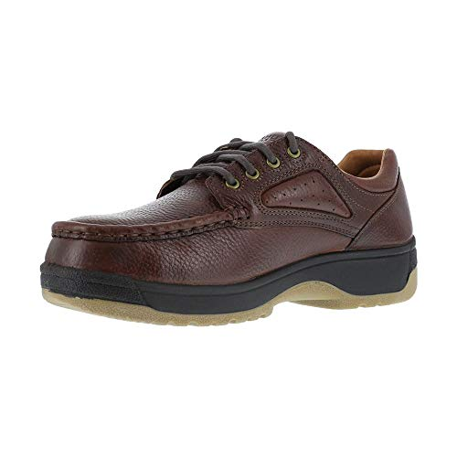 Florsheim Women's Eurocasual Safety Shoes - Dark Brown - 7.0 - D