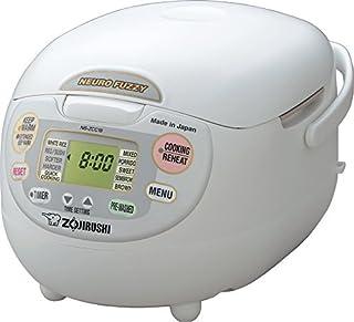 Zojirushi Ns-zcc18 10-cup Neuro Fuzzy Rice Cooker, 1.8-liters, Premium White (B00WH01316)   Amazon price tracker / tracking, Amazon price history charts, Amazon price watches, Amazon price drop alerts