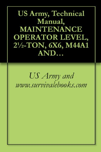 US Army, Technical Manual, MAINTENANCE OPERATOR LEVEL, for sale  Delivered anywhere in USA
