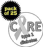 type 1 diabetes pins - (Quantity 25) Cure Type 1 Diabetes 1.25