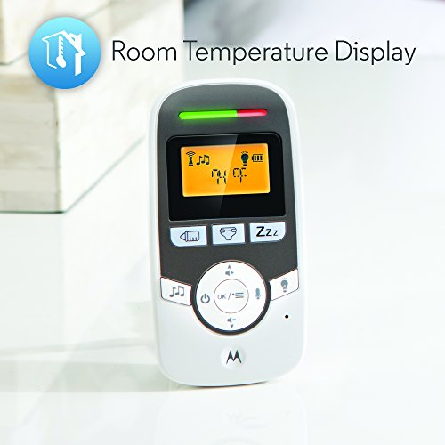 Motorola MBP161TIMER-2 Digital Audio Monitor with Baby Care