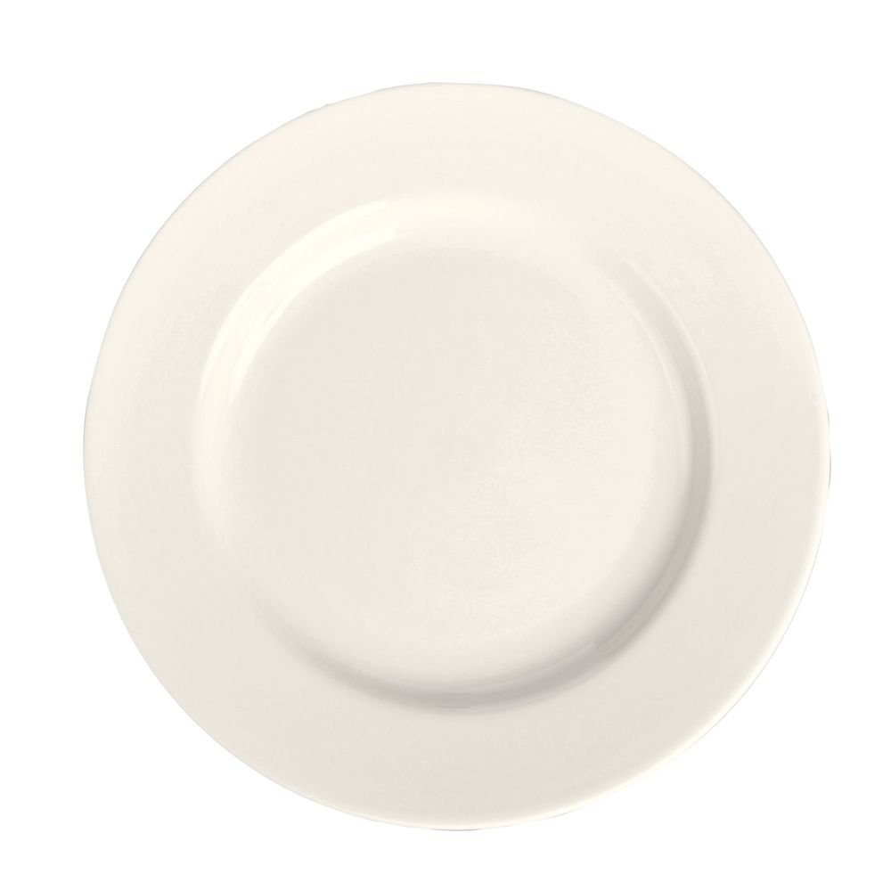 Homer Laughlin China 20300 Undecorated RE 7-1/8'' Plate - 36 / CS by Homer Laughlin (Image #1)