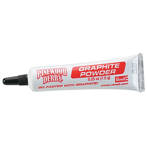 Revell Pinewood Derby Officially Licensed Boy Scouts of America (BSA) Graphite Powder, 0.25 oz ()