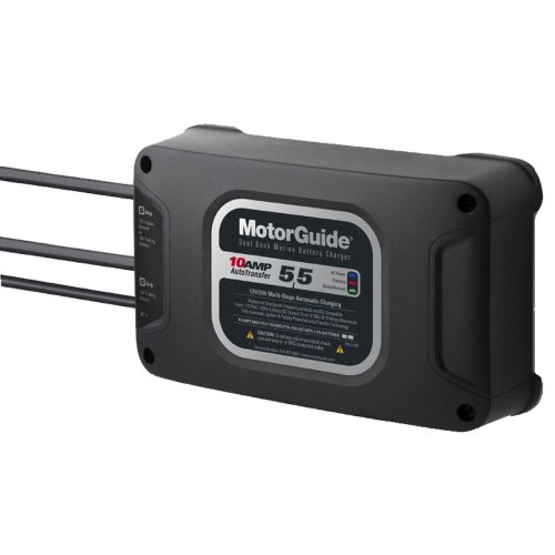 1 - MotorGuide 210 Dual Bank 10A Battery Charger - 5/5 ...