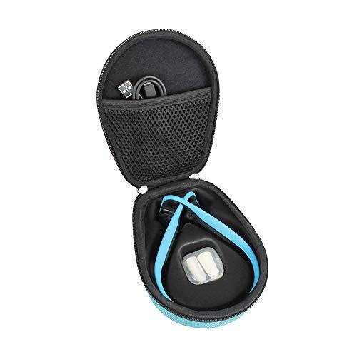 Hermitshell Hard Case fits AfterShokz Trekz Titanium Open Ear Wireless Bone Conduction Headphones AS600 (Blue)