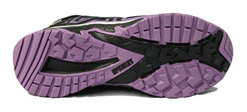 McKinley multi Botas Mediados Cromosoma AQX Jr., schwarz/violet schwarz/violet