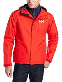 Helly Hansen Men's Seven J Waterproof Windproof Breathable Rain Coat Jacket