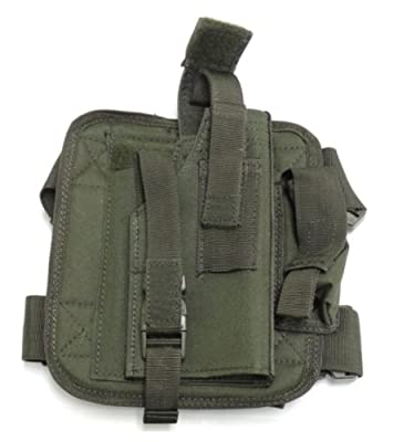 Voodoo Tactical Drop Leg Holster, Right Hand , Olive Drab