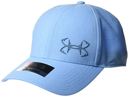 Under Armour Outerwear Men's Fish CoolSwitch ArmourVent Cap, Carolina Blue (475)/Bass Blue, ()