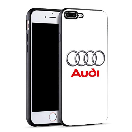 Amazon.com: Minason Audi Car Logo Capa Black Soft Silicone ...