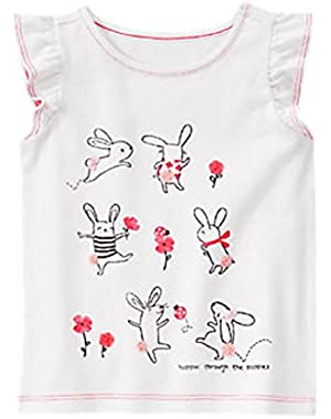 Baby & Toddler Girl Bunny Tee