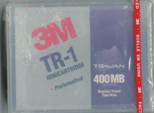 3M TR-1 Mini-Cartridge Travan 400MB by 3M