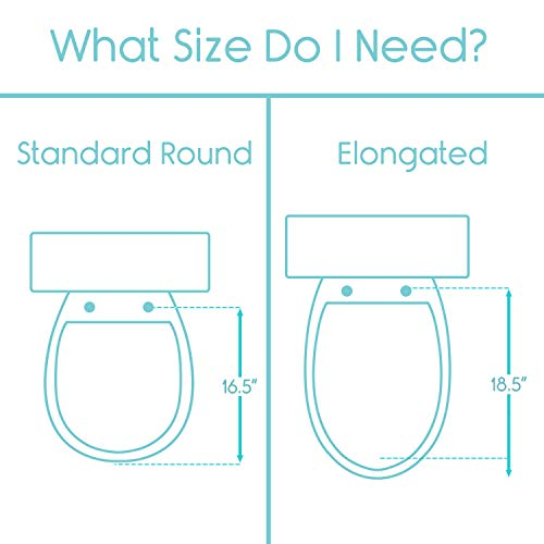 Vive Toilet Seat Riser with Handles - Raised Toilet Seat with Padded Arms for Handicapped - Medical Handicap Bathroom Safety Chair - Portable, High and Elevated Lifter Extender (Standard) by Vive (Image #4)