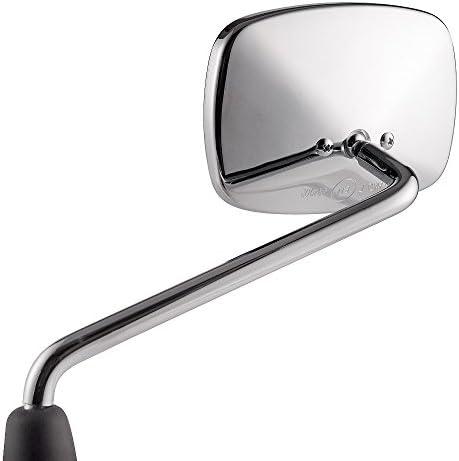 Liberty 50 125 200 KiWAV Chrome wing mirror LEFT HAND for Vespa LX 50 125 150 LXV 50 125 Liberty Rst 50 125 150 OEM