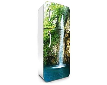 Kühlschrank Dekorfolie : Dimex line kühlschrank aufkleber wasserfall cm stickers