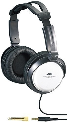 JVC-HARX300-Full-Size-Adjustable-Headphones-Black