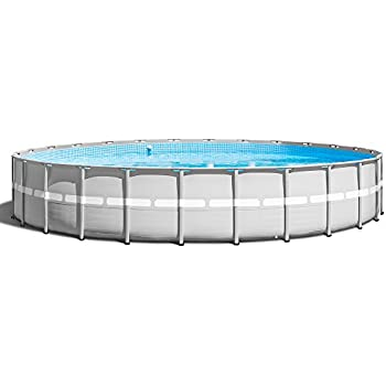 this item intex 26 foot x 52 inch ultra frame above ground swimming pool set 28345vm