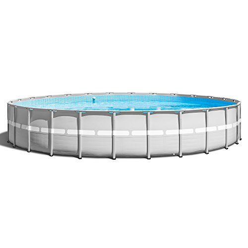 Intex 26' x 52'' Ultra Frame Above Ground Swimming Pool Set with Pump & Ladder by INTEX