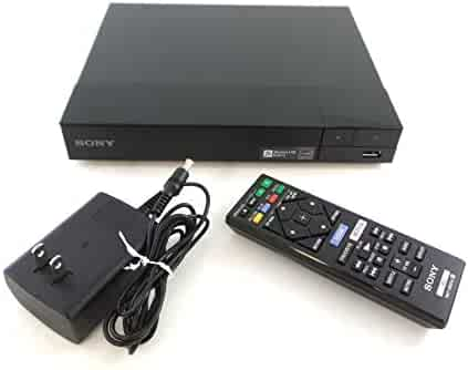 Sony BDP-S3700 Blu-Ray Disc Player with Built-in Wi-Fi + Remote Control, Bundled With tmvel  High-Speed HDMI Cable w/Ethernet