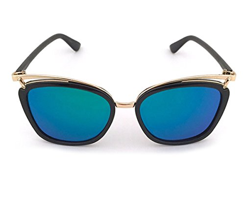 Heartisan Special Full Frame Anti-UV Flash Mirror Unisex Sunglasses - Blocker Australia Sunglasses Blue